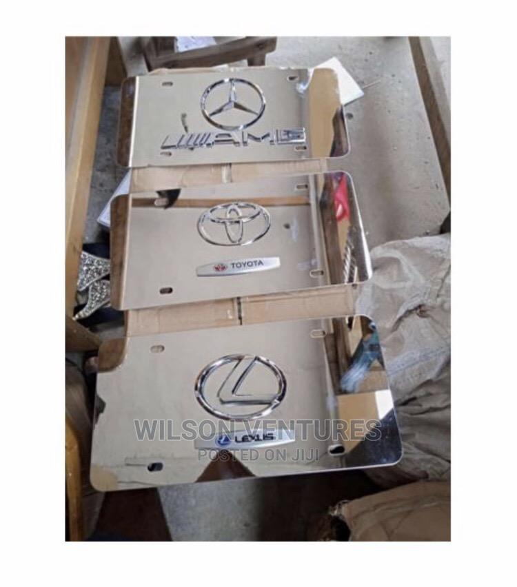Full Plate Number Cover for All Cars | Vehicle Parts & Accessories for sale in Mushin, Lagos State, Nigeria