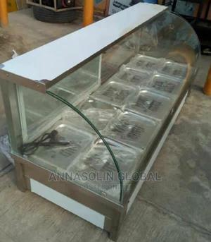 Newly Imported Food Warmer Display Showcase Wit High Quality | Restaurant & Catering Equipment for sale in Lagos State, Ikeja