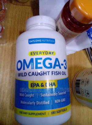 Everyday Omega -3 Wild Caught Fish Oil | Vitamins & Supplements for sale in Lagos State, Surulere