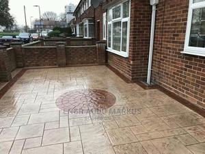 Concrete Stamp Floor | Building & Trades Services for sale in Abuja (FCT) State, Lugbe District