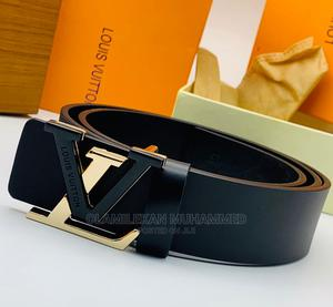 Louis Vuitton Leather Belt   Clothing Accessories for sale in Lagos State, Lagos Island (Eko)