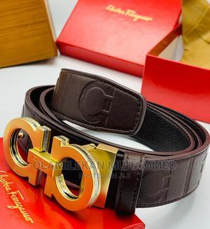 Salvatore Ferragamo Leather Belt | Clothing Accessories for sale in Lagos State, Lagos Island (Eko)