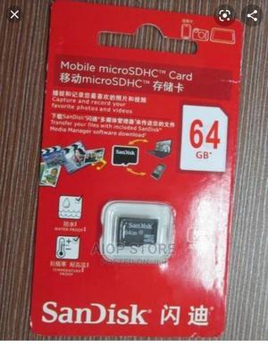 64gb Sandisk Memory Card   Accessories for Mobile Phones & Tablets for sale in Rivers State, Port-Harcourt