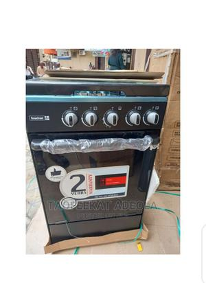 Scanfrost 4 Burners Standing Gas Oven + Cooker + Oven Tray   Kitchen Appliances for sale in Lagos State, Lagos Island (Eko)