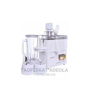 Master Chef 4-In-1 Juicer, Blender, Grinder and Mill | Kitchen Appliances for sale in Lagos State, Lagos Island (Eko)