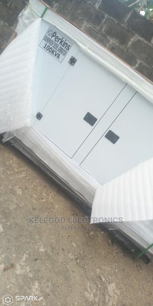 100 Kva Perkins Soundproof Diesel Generator | Electrical Equipment for sale in Lagos State, Ikeja