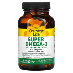 Country Life Super Omega 3 Fish Oil | Vitamins & Supplements for sale in Lagos State, Ojo
