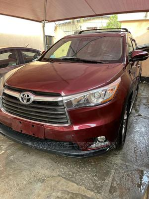 Toyota Highlander 2015 Red   Cars for sale in Lagos State, Amuwo-Odofin