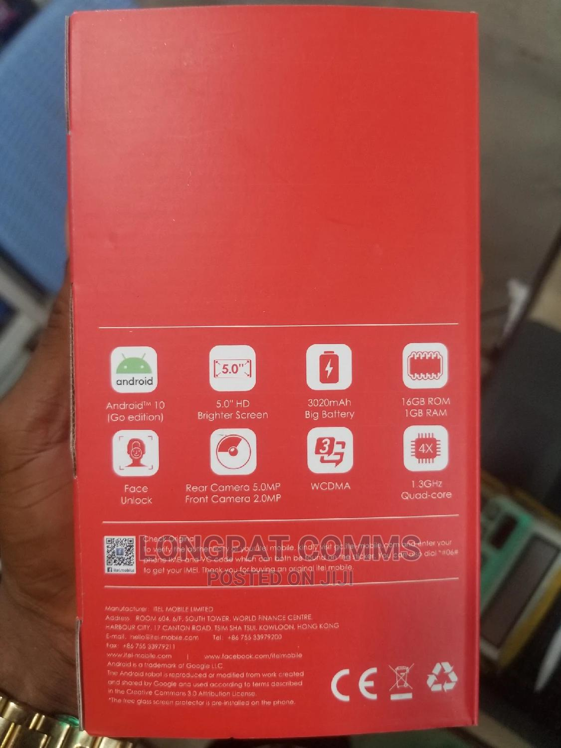 New Itel A36 16GB | Mobile Phones for sale in Ikeja, Lagos State, Nigeria