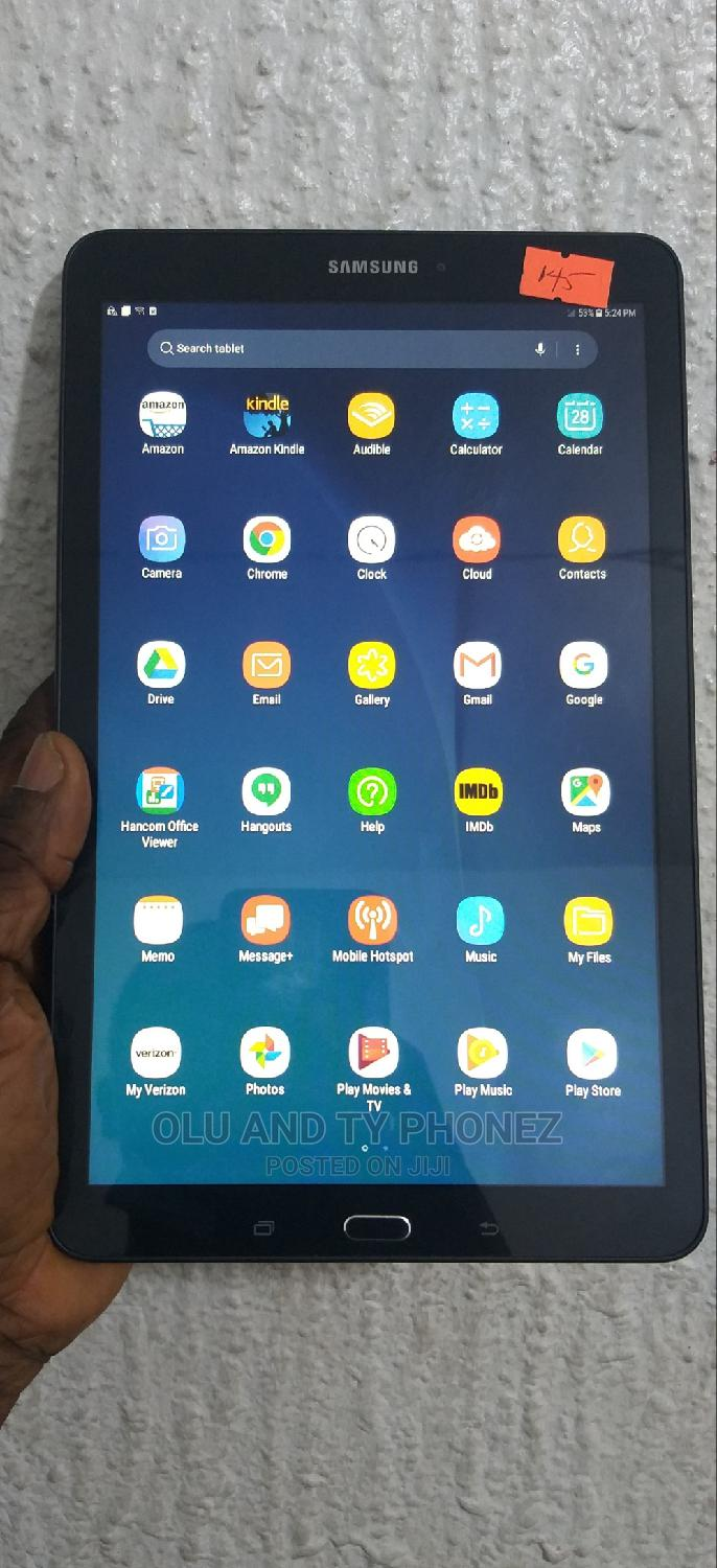 Samsung Galaxy Tab E 9.6 16 GB Black
