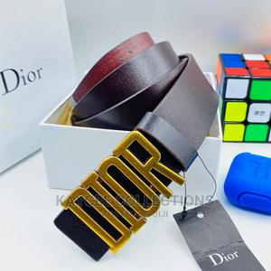 Dior Leather Belt for Men | Clothing Accessories for sale in Lagos State, Lagos Island (Eko)