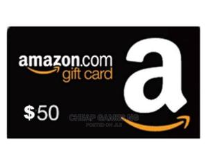 50$ Amazon Gift Card   Accessories & Supplies for Electronics for sale in Lagos State, Agege