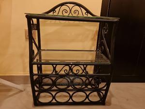 Wrought-iron Glass Multi-layered Mini-bar/Wine-rack   Furniture for sale in Abuja (FCT) State, Asokoro