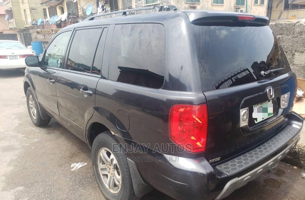 Honda Pilot 2004 EX-L 4x4 (3.5L 6cyl 5A) Gray | Cars for sale in Surulere, Lagos State, Nigeria