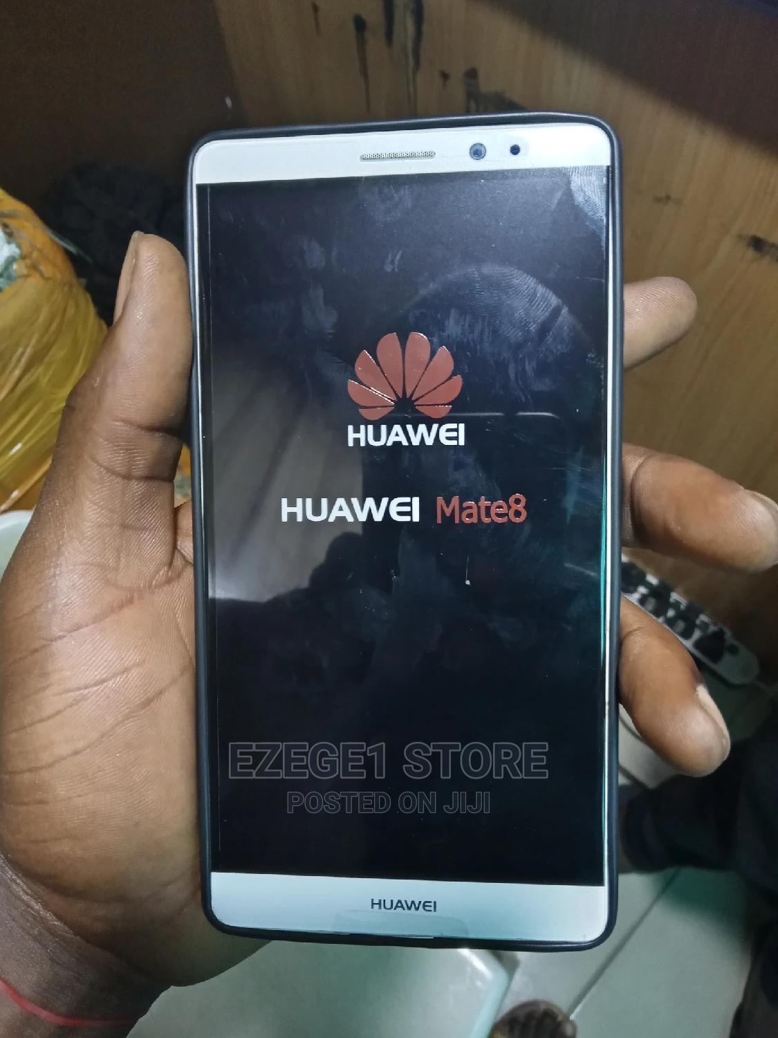 Huawei Mate 8 32 GB Silver | Mobile Phones for sale in Ikeja, Lagos State, Nigeria
