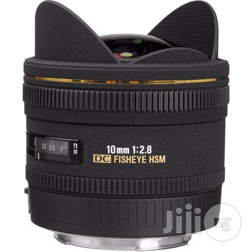 Sigma 10mm F/2.8 EX DC HSM Fisheye Lens   Accessories & Supplies for Electronics for sale in Rivers State, Nigeria