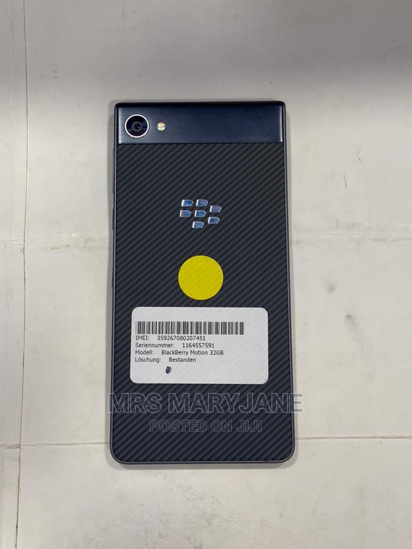 BlackBerry Motion 32 GB Black | Mobile Phones for sale in Ikeja, Lagos State, Nigeria