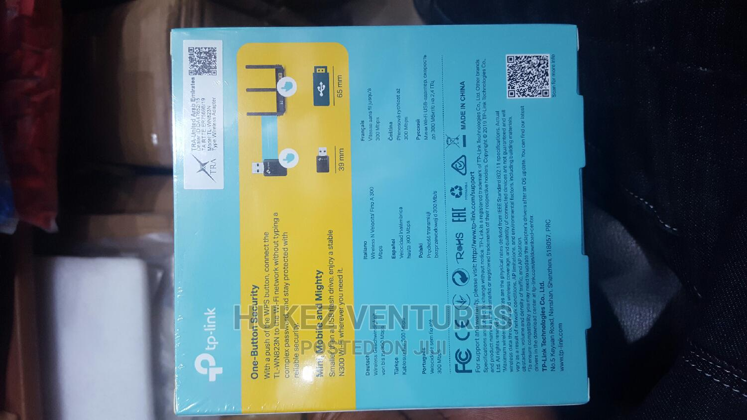 Tp Link 300mbps Wireless Adapter TL -WN823N   Accessories & Supplies for Electronics for sale in Ikeja, Lagos State, Nigeria