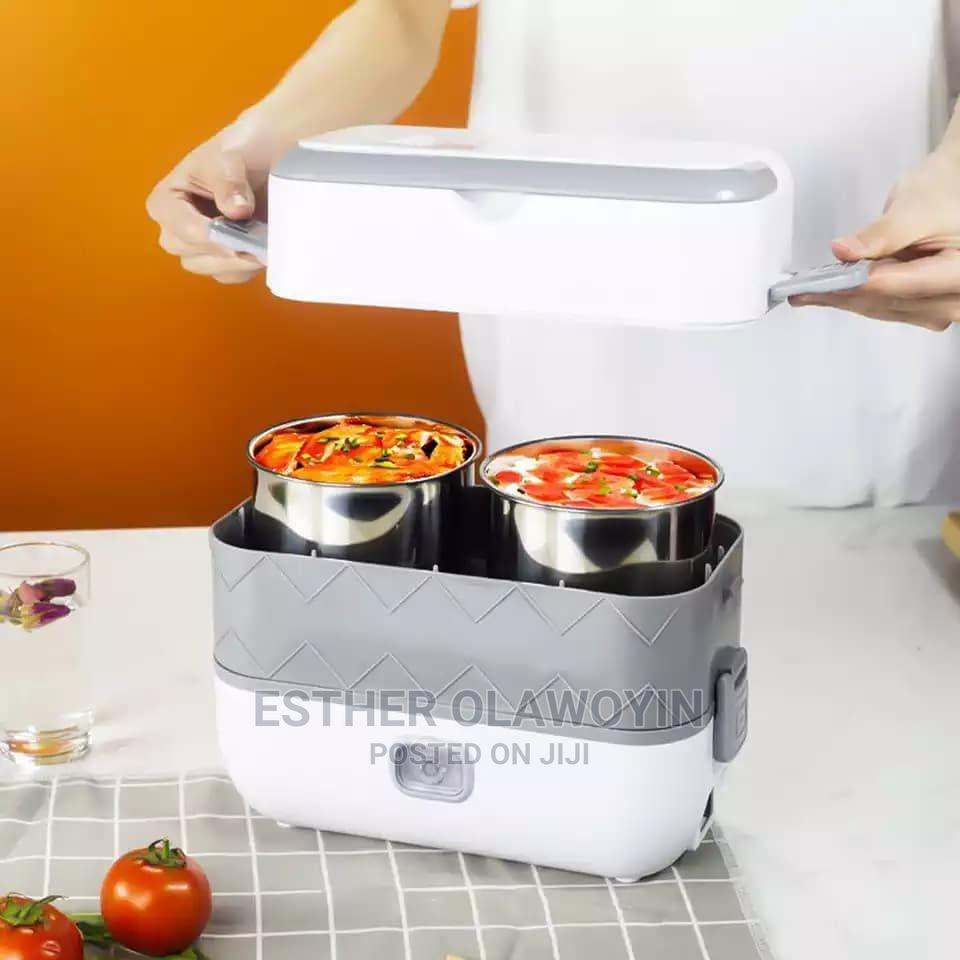 200W 4 Liner Cooking Lunch Box | Kitchen Appliances for sale in Lagos Island (Eko), Lagos State, Nigeria