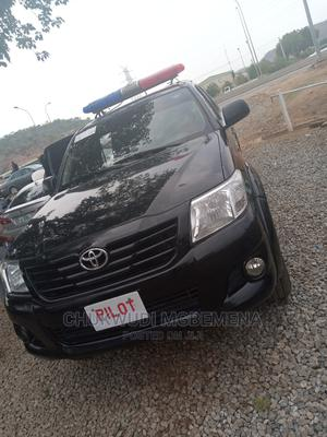 Toyota Hilux 2014 WORKMATE Black   Cars for sale in Abuja (FCT) State, Gwarinpa