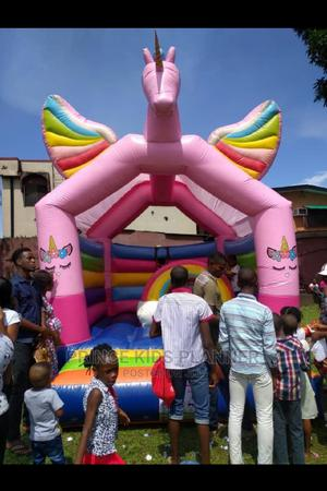 Unicorn Party Size Bouncy Castle for Rent   Party, Catering & Event Services for sale in Lagos State, Victoria Island