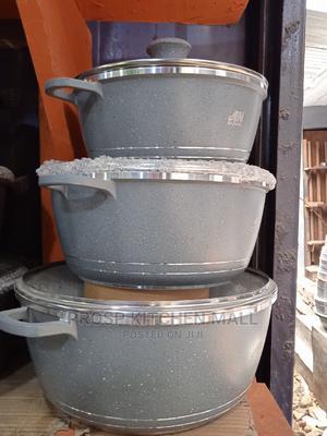 GRANITE Non Stick Pot 3pcs | Kitchen & Dining for sale in Lagos State, Lagos Island (Eko)