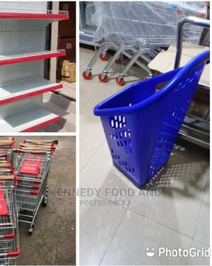Supermarket Shelve/Trolley | Store Equipment for sale in Lagos State, Ikeja