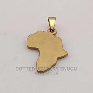 Gorgeous Africa Map Pendant | Jewelry for sale in Enugu State, Enugu