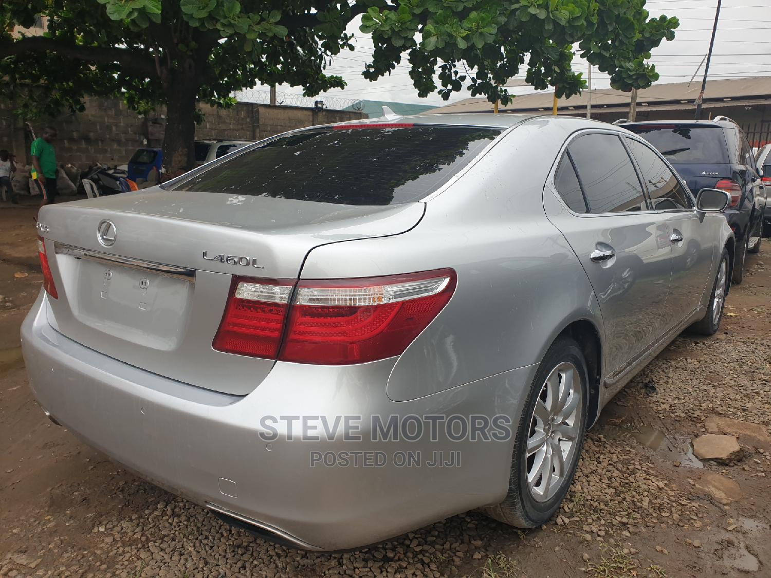Lexus LX 2008 570 Silver   Cars for sale in Isolo, Lagos State, Nigeria