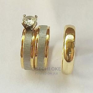 Wedding Rings 3piece Set With Case   Wedding Wear & Accessories for sale in Lagos State, Surulere