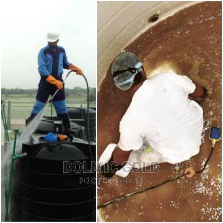 Water Tank Washing