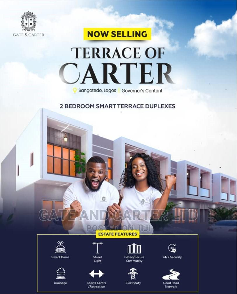 Brand New 2 Bedroom Terrace Duplex for Sale With Governor's Consent