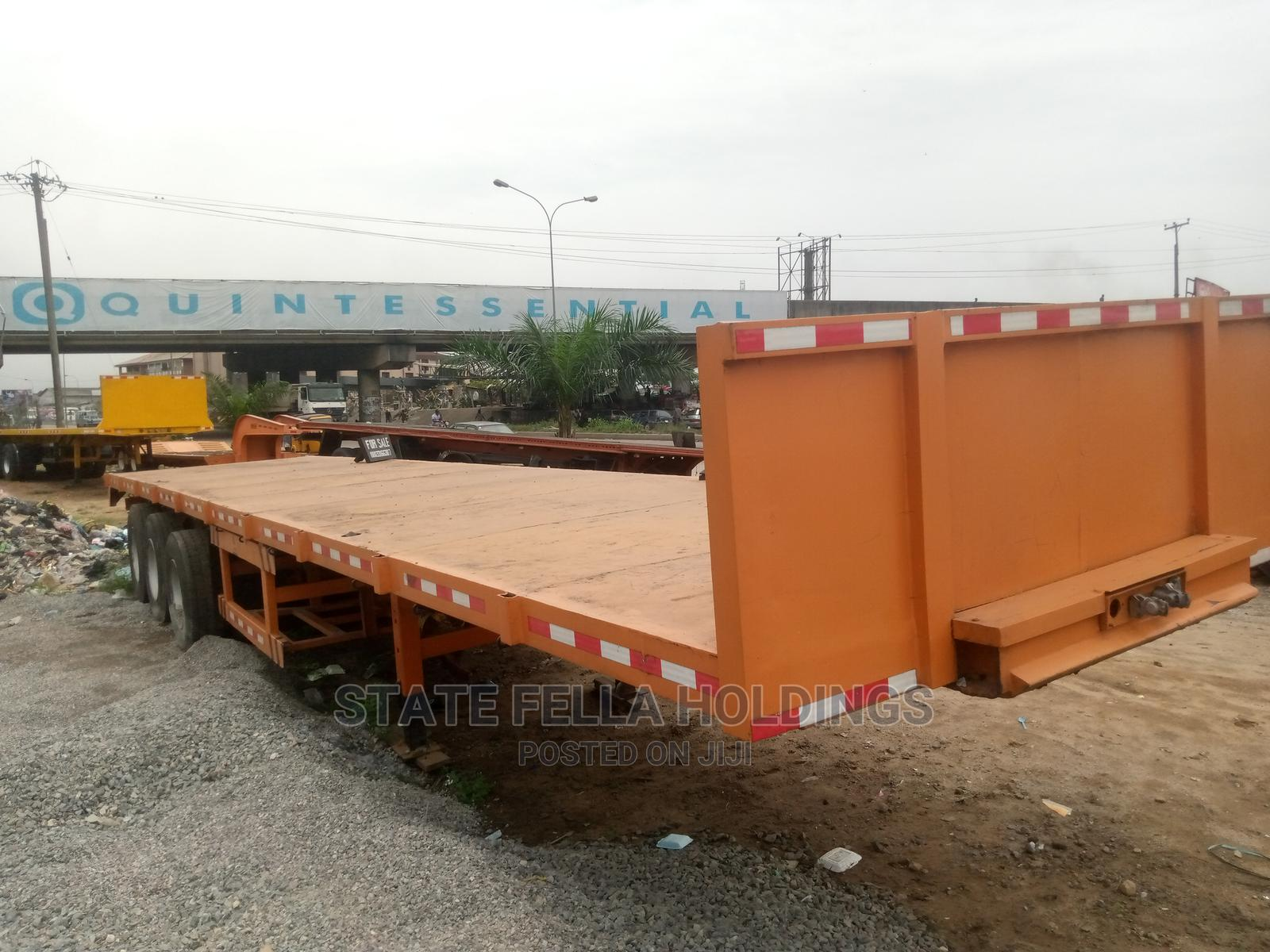 40 Ton, Triple Axle Flat Bed for Sale   Trucks & Trailers for sale in Port-Harcourt, Rivers State, Nigeria