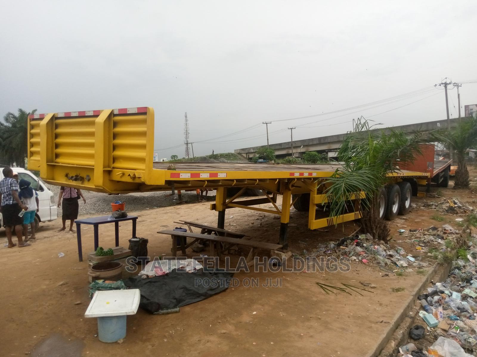 40 Ton Triple Axle Flat Bed for Sale   Trucks & Trailers for sale in Port-Harcourt, Rivers State, Nigeria