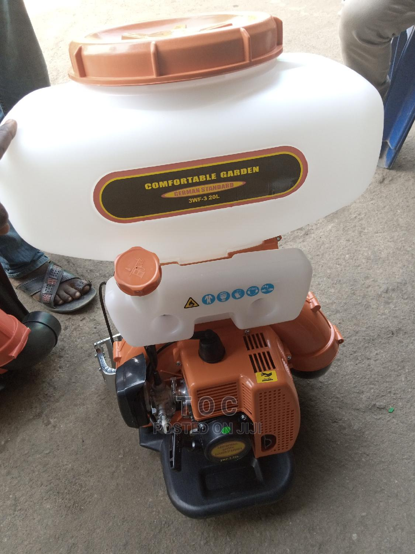 Motorized Sprayer Machine