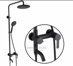 Executive Black Standing Shower Set   Plumbing & Water Supply for sale in Lagos State, Amuwo-Odofin