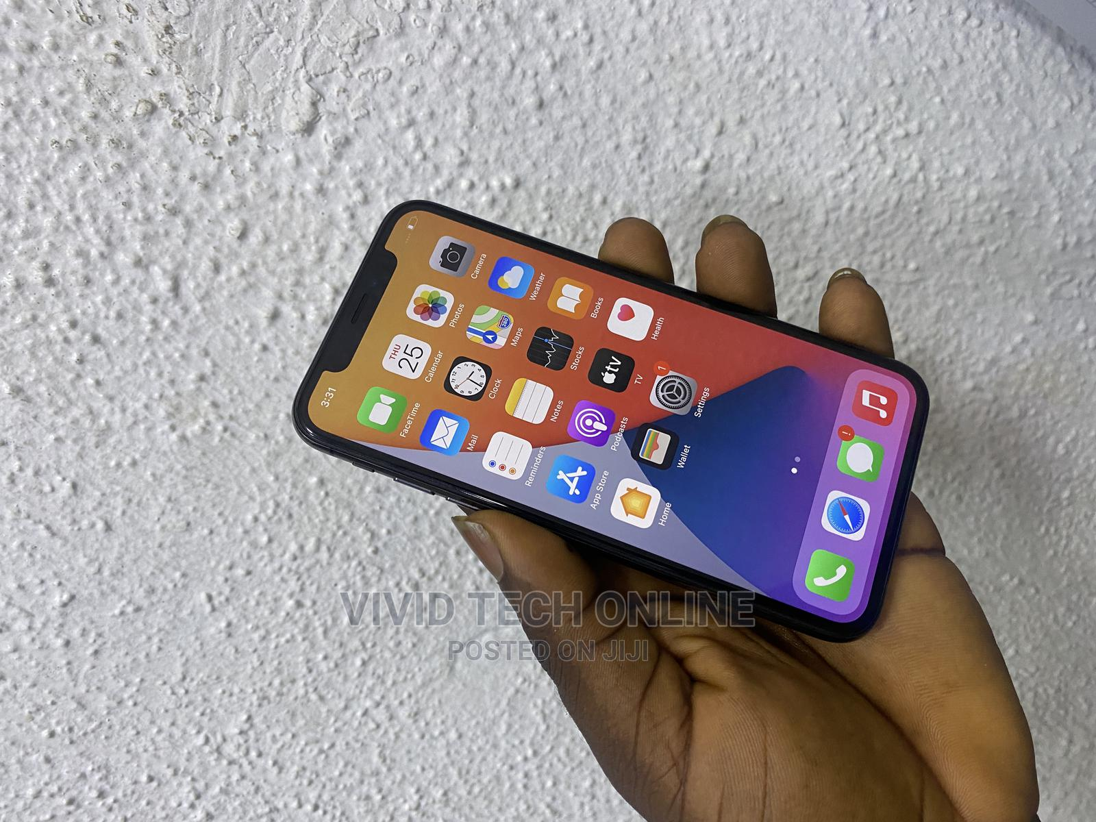 Apple iPhone X 64 GB Black   Mobile Phones for sale in Ikeja, Lagos State, Nigeria