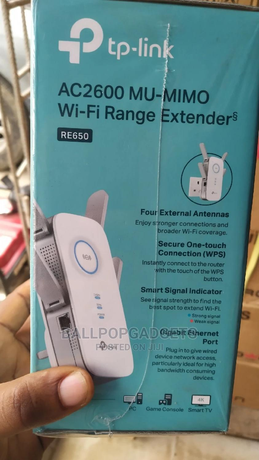 Tp Link Wifi Range Extender | Networking Products for sale in Ikeja, Lagos State, Nigeria