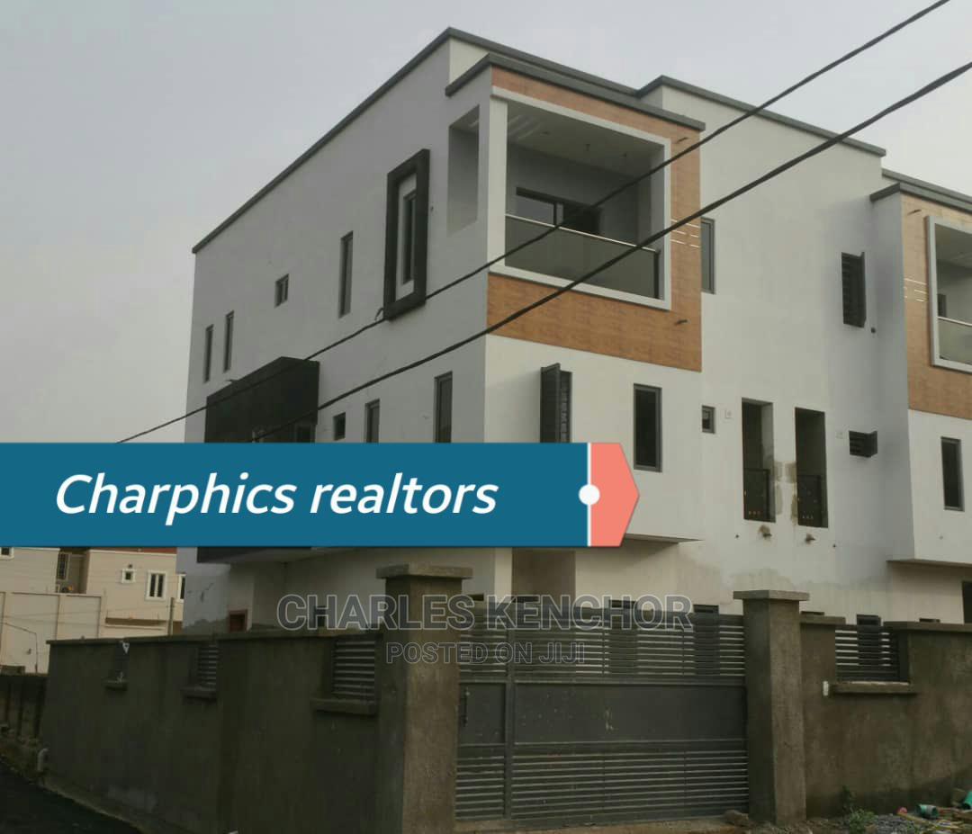 New 5bedrooms Semi Detached Duplex With Bq Magodo Shangisha