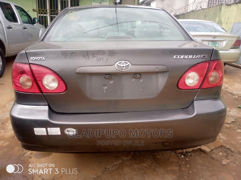 Archive: Toyota Corolla 2005 LE Gray
