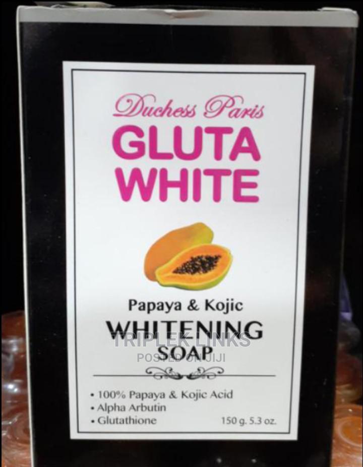 Duchess Paris Gluta White Papaya and Kojic Whitening Soap