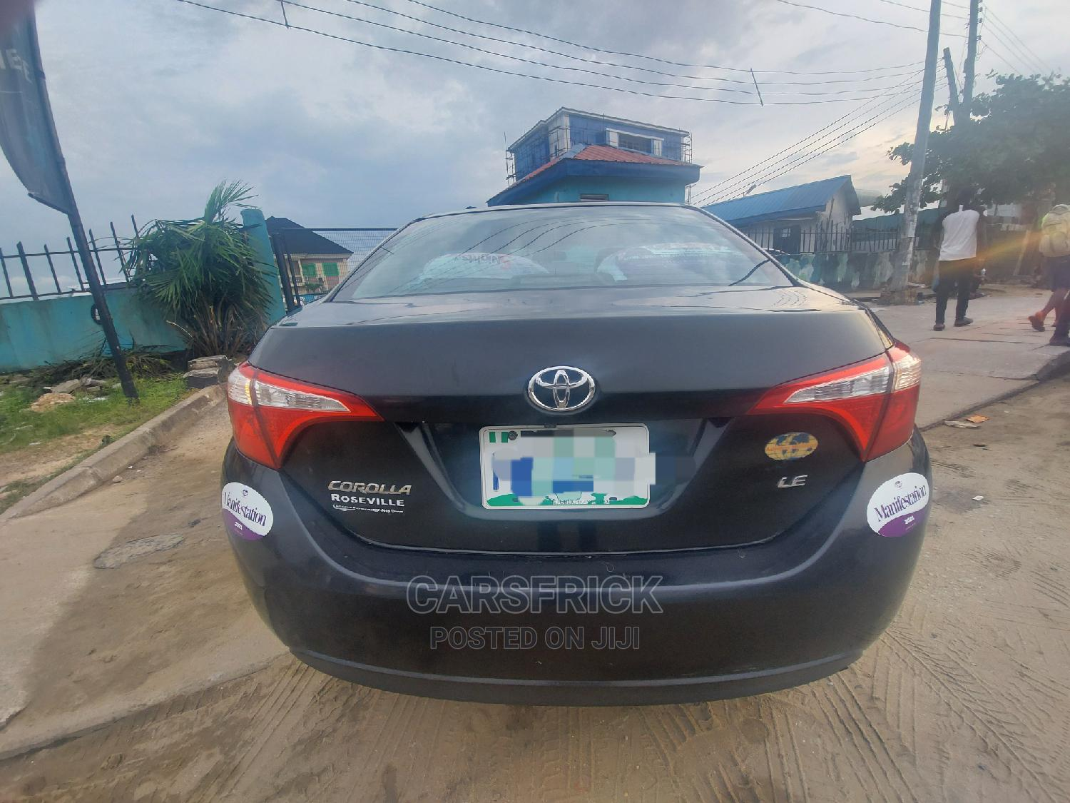 Toyota Corolla 2015 Black | Cars for sale in Port-Harcourt, Rivers State, Nigeria