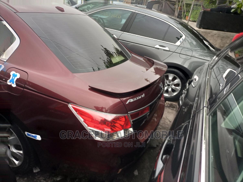 Honda Accord 2010 Red | Cars for sale in Apapa, Lagos State, Nigeria