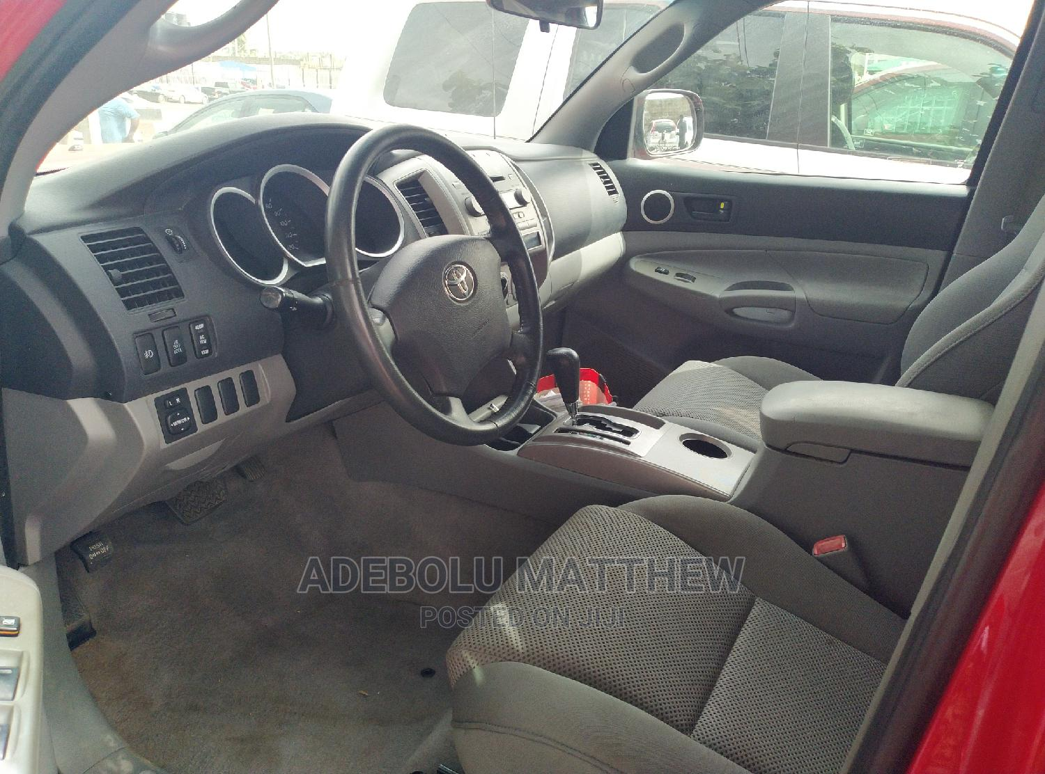 Toyota Tacoma 2007 Red | Cars for sale in Ojodu, Lagos State, Nigeria