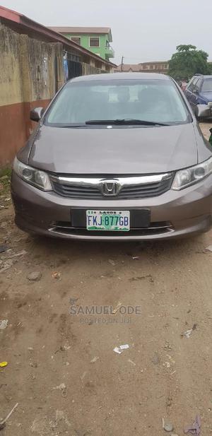 Honda Civic 2013 Sedan EX Gray | Cars for sale in Lagos State, Surulere