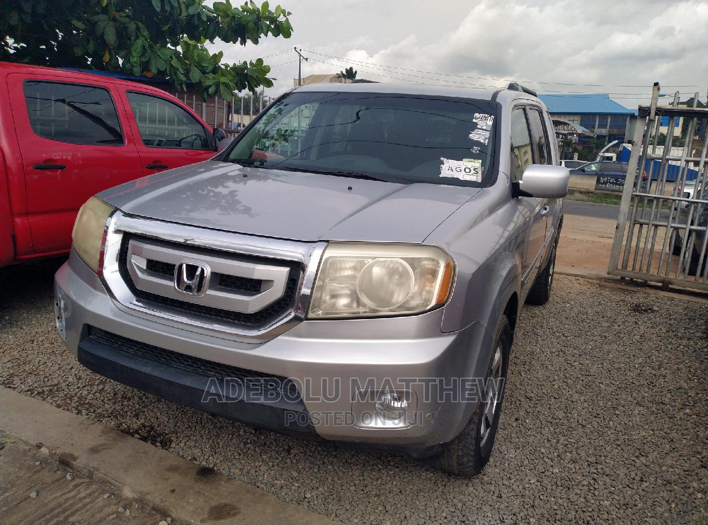 Honda Pilot 2010 Silver | Cars for sale in Ojodu, Lagos State, Nigeria