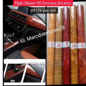 9D Formica Sticker   Vehicle Parts & Accessories for sale in Lagos State, Ikeja