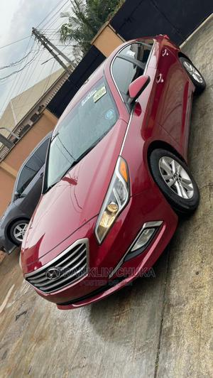 Hyundai Sonata 2015 Red | Cars for sale in Lagos State, Ojota