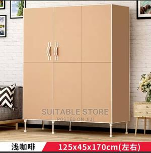Mobile Steel Wardrobe With Durable Doors   Furniture for sale in Lagos State, Oshodi