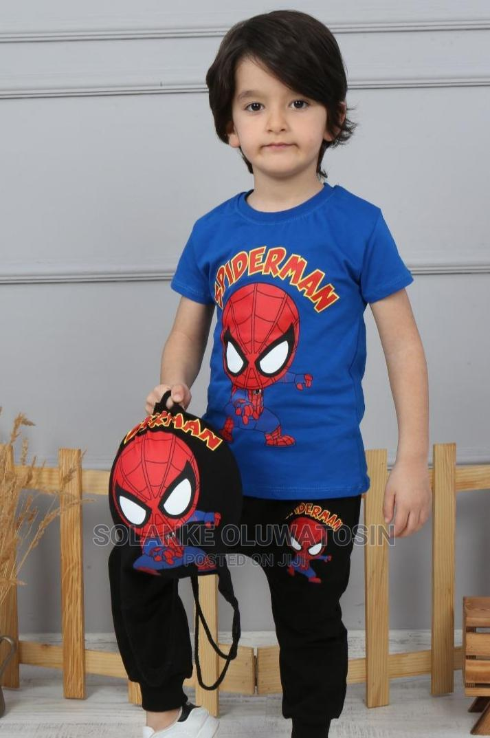Spiderman Outfit With Bag